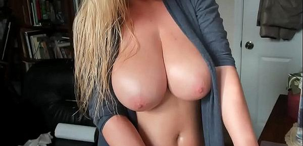 BIGGEST NATURAL TITS I&039;VE EVER SEEN!!!! see her masturbating for tips on Cam-thots.com