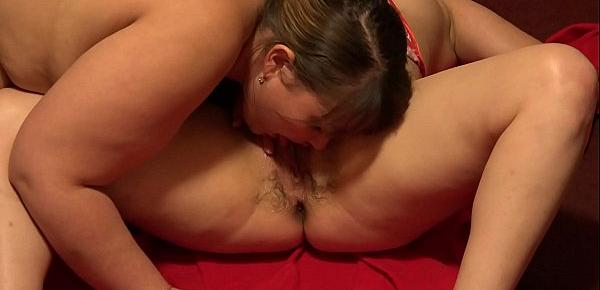 Deep anal fisting and a gaping hole in the ass bring lesbians pleasure after gently licking a hairy pussy. Fetish.