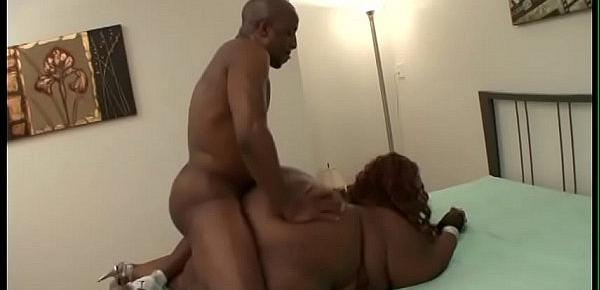 Big fat chick Lady Seductress gets her fat clit sucked by bold guy
