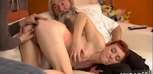 Old man love fuck xxx Unexpected experience with an older gentleman